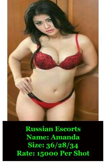 Russian Escorts in Delhi